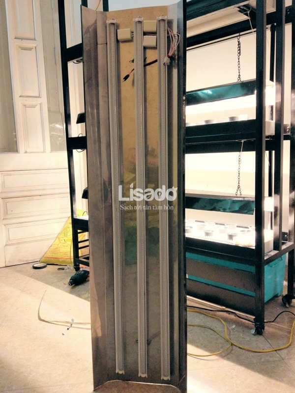 Đèn Led trồng rau sạch trong nhà chuyên dụng - An toàn, tiết kiệm điện