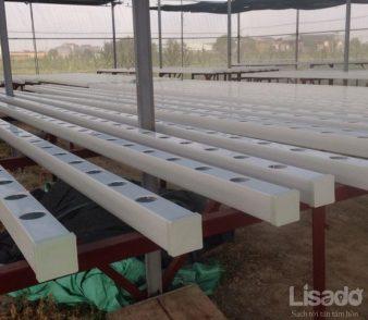 Ống Nhựa Vuông Trồng Rau Thủy Canh Chuyên Dụng, Giá ưu đãi