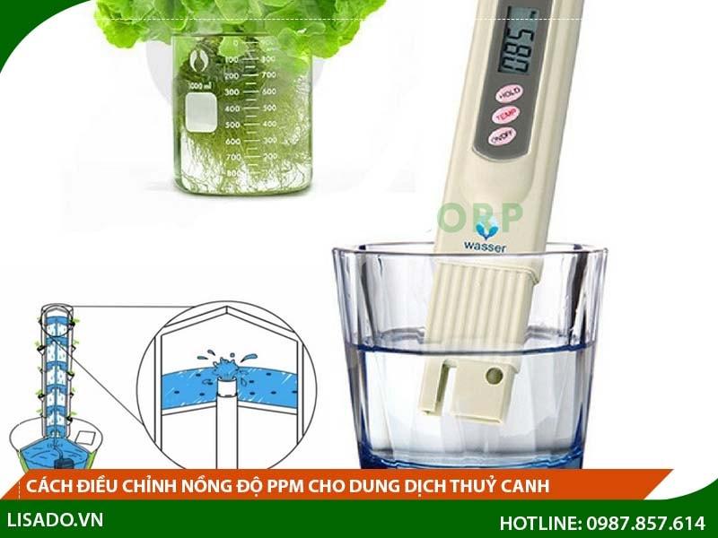 Bút đo nồng độ PPM là vật dụng khá quan trọng khi trồng rau thủy canh