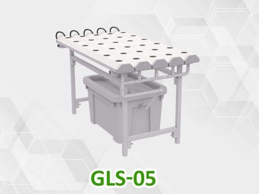 Giàn trồng rau thủy canh mini GLS-05