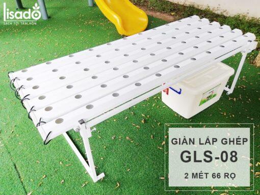 Giàn trồng rau thủy canh Lisado GLS-08