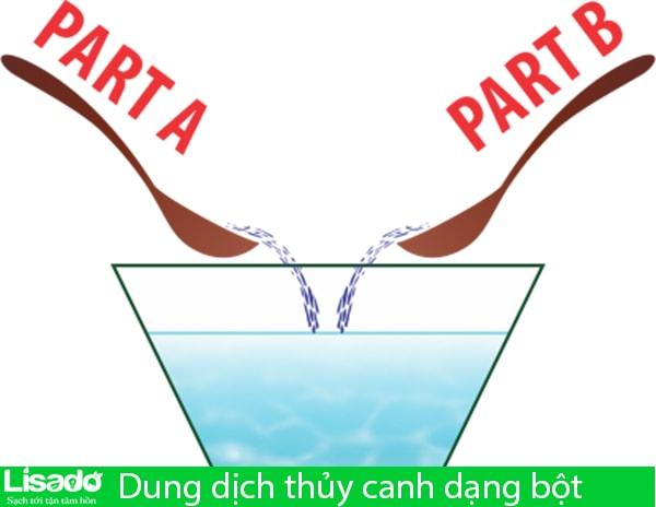 Dung dịch thủy canh dạng bột