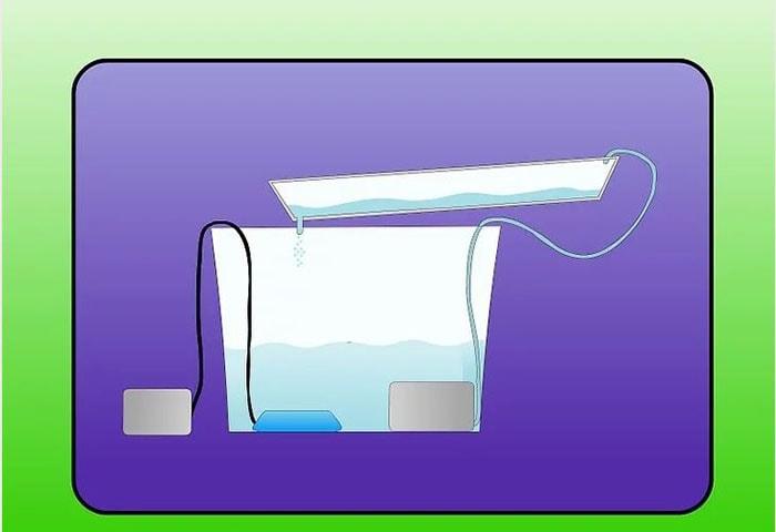 bể chứa dinh dưỡng của bạn lớn hơn hoặc bằng thể tích rỗng của những chiếc chậu