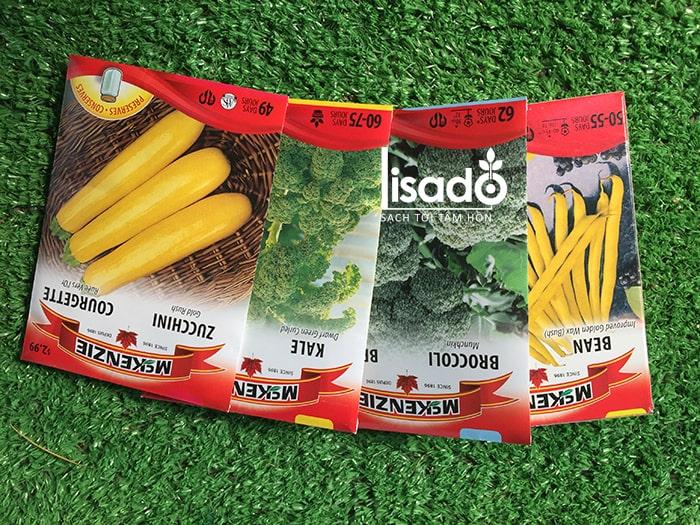 Hạt giống rau củ quả nhập khẩu