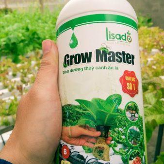 Dung Dịch Thuỷ Canh Grow Master Cho Rau ăn Lá