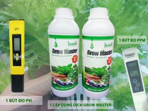 ComboLisado 3: Dụng cụ trồng rau thuỷ canh nâng cao