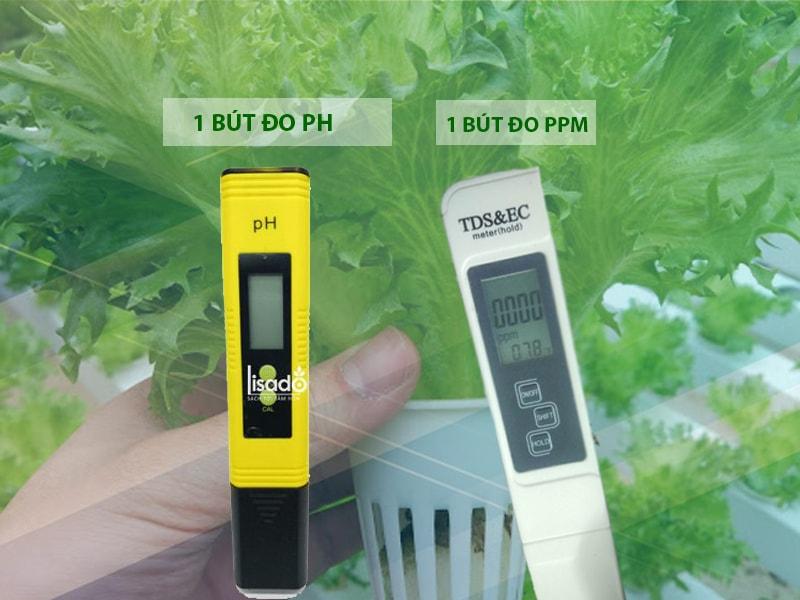 Đo nồng độ pH cho dung dịch thủy canh