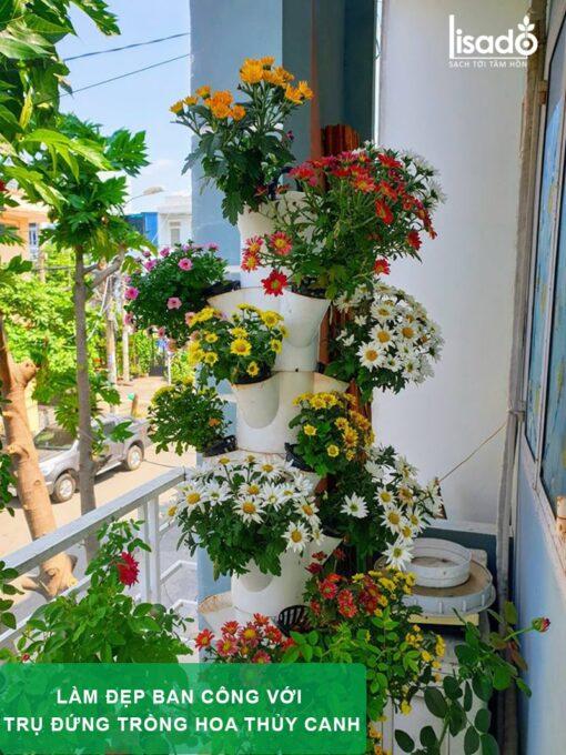 Trụ đứng trồng rau thủy canh chuyên dụng, giá tốt nhất