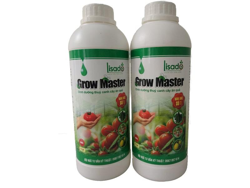 Dung dịch thủy canh Grow Master cho cây ăn quả