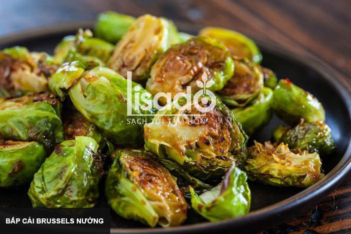 Bắp cải Brussels nướng