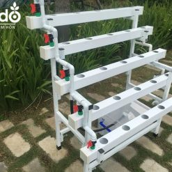 Giàn thủy canh Lisado mini bán chữ A cho ban công gia đình, chung cư