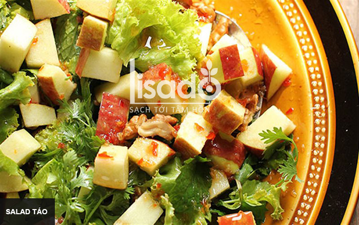 Salad táo