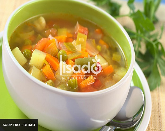 Soup táo – bí đao