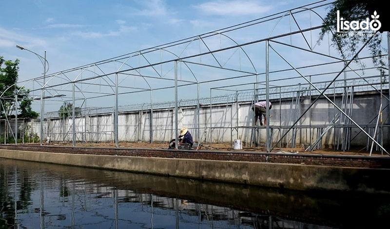Tổng quan về công trình thủy canh và nhà lưới tại Hải Dương