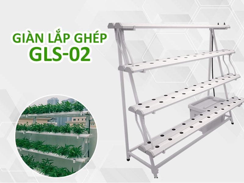 Giàn thủy canh tự động GLS-02