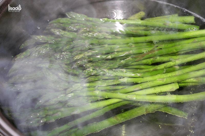 Cách làm các món măng tây hấp ngọt ngon, bổ dưỡng