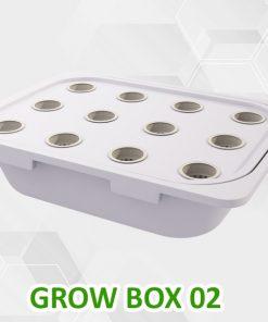 Thùng trồng rau thủy canh tĩnh Grow Box 02