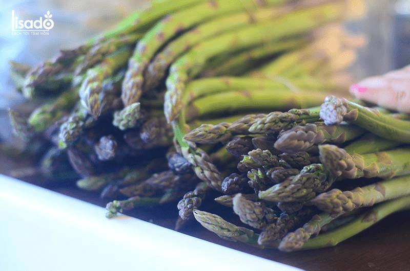 Măng tây bảo quản được bao lâu?