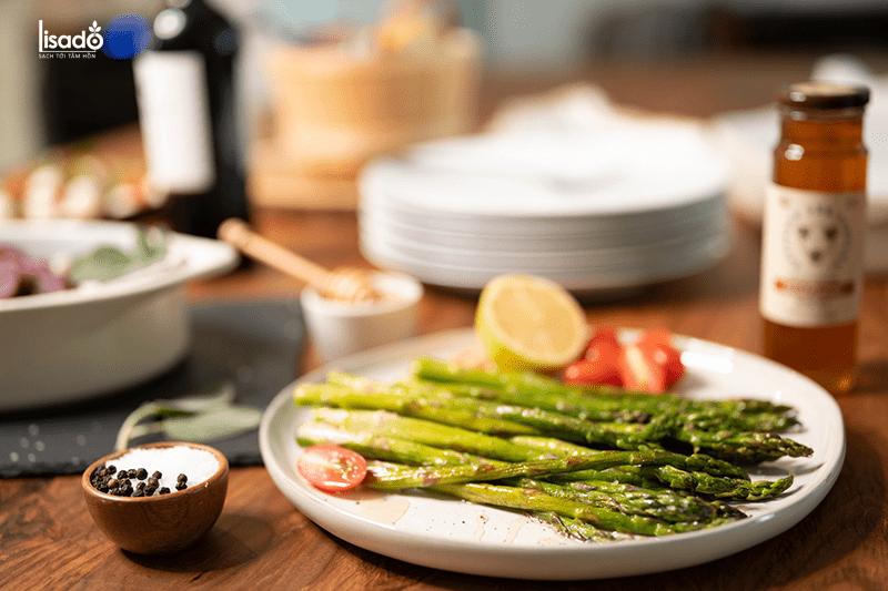 Măng tây tốt cho tim mạch và tuần hoàn máu