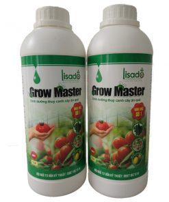 Dung dịch thuỷ canh Grow Master cặp 2 lít cho cây ăn trái