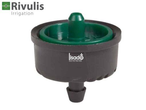 Đầu tưới nhỏ giọt bù áp lưu lượng 8 lít/h Supertif - Rivulis (Israel)