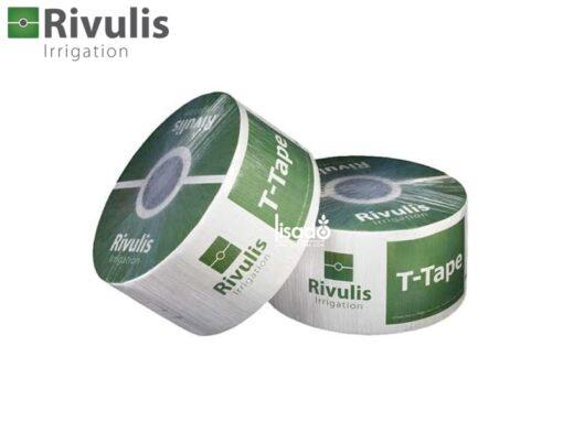 Dây tưới nhỏ giọt T-Tape phi Ø16 dày 0.2mm, k/c 20, 30, 40cm - Rivulis (Israel)
