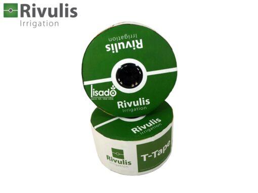 Dây tưới nhỏ giọt T-Tape phi Ø16 dày 0.38mm, k/c 20, 30, 40cm - Rivulis (Israel)