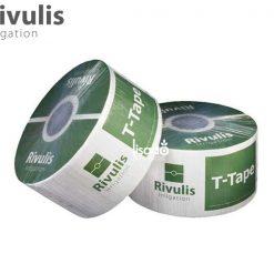 Dây tưới nhỏ giọt T-Tape Ø16 dày 0.3mm, khoảng cách 20cm - Rivulis (Israel)
