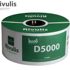 Ống tưới nhỏ giọt D5000 phi Ø16 dày 0.38mm, k/c 40cm, bù áp 2l/h - Rivulis (Israel)