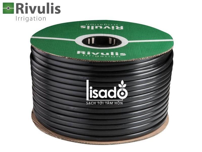 Ống tưới nhỏ giọt bù áp D5000 Ø17 dày 0.9mm, khoảng cách 40cm – Rivulis (Israel)