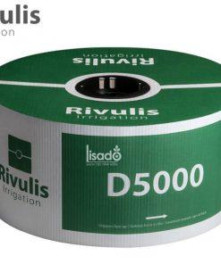 Ống tưới nhỏ giọt bù áp D5000 Ø17 dày 0.9mm, khoảng cách 40cm - Rivulis (Israel) không tắc nghẽn