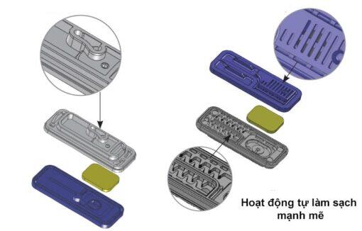 Dây nhỏ giọt bù áp Topdrip Ø12mm, k/c 50cm, dày 0,8mm – NDJ (Israel)