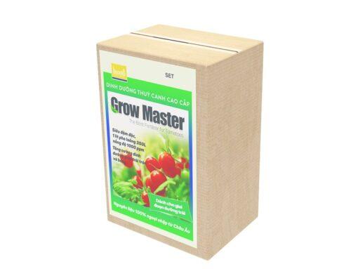 Dinh dưỡng thủy canh Grow Master cho cà chua dạng bột