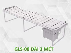 Giàn trồng rau thủy canh GLS-08 dài 3 mét