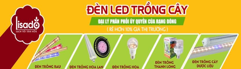 Đèn LED trồng cây trong nhà – Đèn LED quang hợp trồng rau chuyên dụng