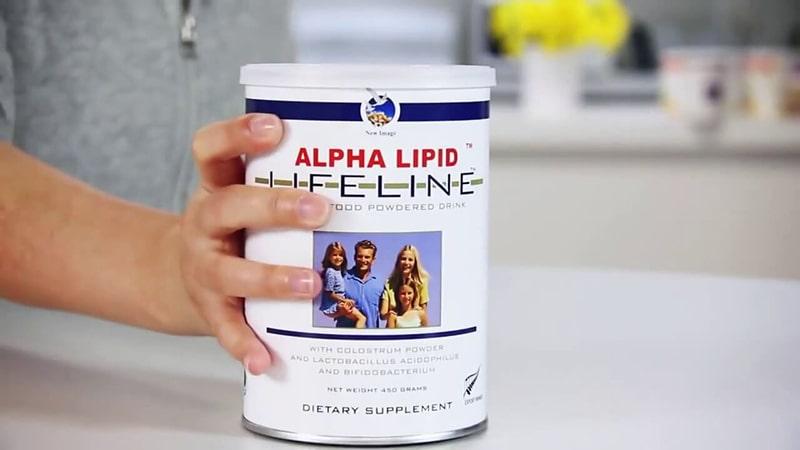 Giá sữa Alpha Lipid Lifeline 450g